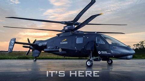 Trực thăng S-97 Raider của Mỹ