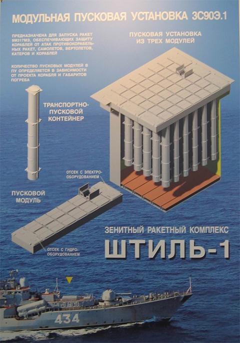 Hệ thống tên lửa Shtil-1.