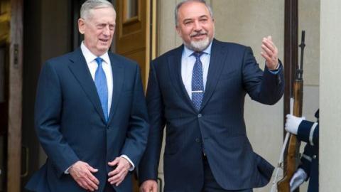 Bộ đôi James Mattis - Avigdor Lieberman đều cho rằng Syria cất giấu VKHH