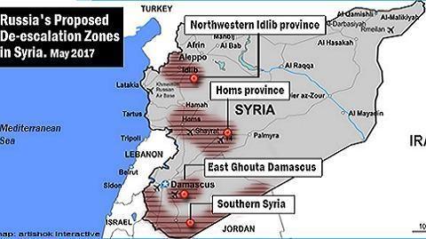 """Israel rất lo ngại bởi cao nguyên Golan cũng nằm trong các """"safe-zones"""""""