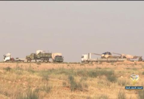 Quân đội Syria tập kết lực lượng trên hướng tấn công về biên giới Iraq