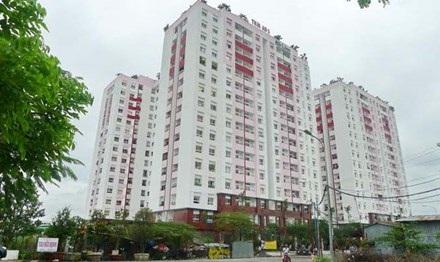 Chung cư Thái An của Cty địa ốc Đất Lành được Bộ Xây dựng cho phép xây căn hộ 25m2.