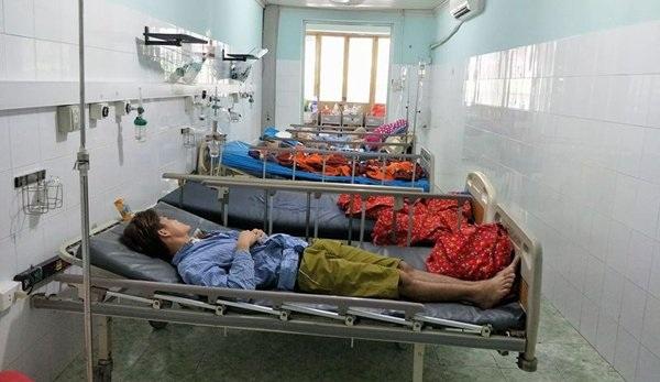 3 thanh niên ngộ độc cỏ Mỹ đang được điều trị tại BV đa khoa tỉnh Tuyên Quang