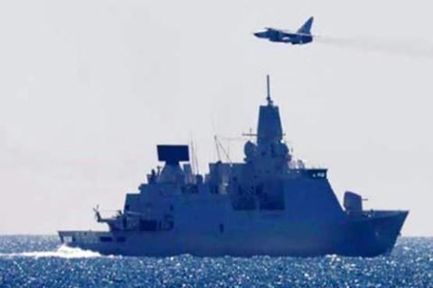 Chiến đấu cơ Nga áp sát tàu Hà Lan.