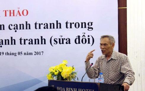 Ông Trương Đình Tuyển, nguyên Bộ trưởng Bộ Thương mại mong muốn phải có cơ quan quản lý cạnh tranh đảm bảo yêu cầu.