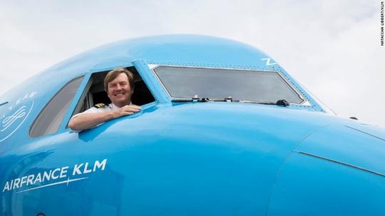 Vua Hà Lan Willem-Alexander. (Ảnh: KLM)