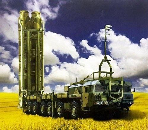 Tổ hợp tên lửa phòng không S-500.