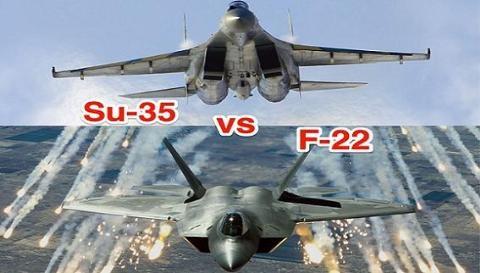 Nga sử dụng máy bay AWACS để hỗ trợ Su-35 đánh bại F-22 và F-35 Mỹ