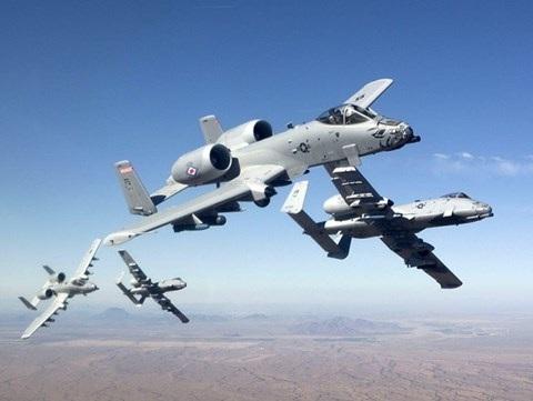 Cường kích A-10 của Mỹ còn có biệt danh là lợn lòi