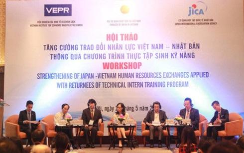 Hội thảo Tăng cường trao đổi nhân lực Việt Nam - Nhật Bản thông qua chương trình thực tập sinh kỹ năng