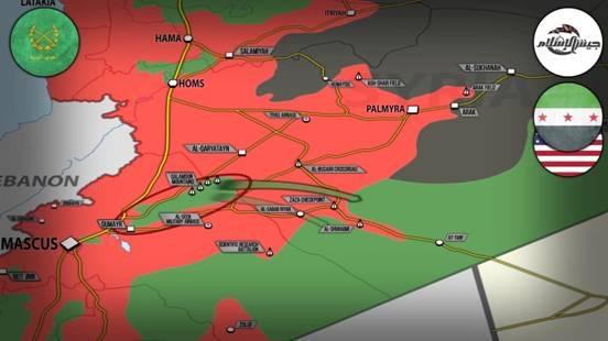 Nhóm Jaish al-Islam cố gắng phá vây để tiến về Al-Tanf nhưng không thành