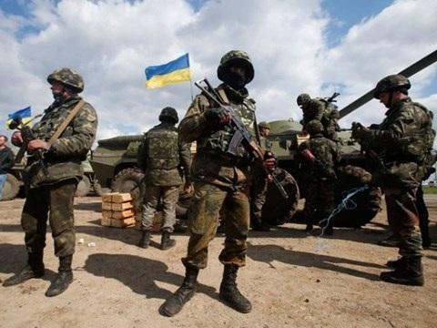 Binh lính Ukraine tại miền Đông