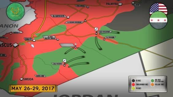 Mỹ vạch giới hạn đỏ: 55 km Al-Tanf - 1