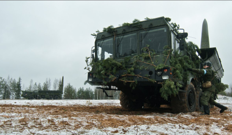 Tên lửa đạn đạo Iskander-M.