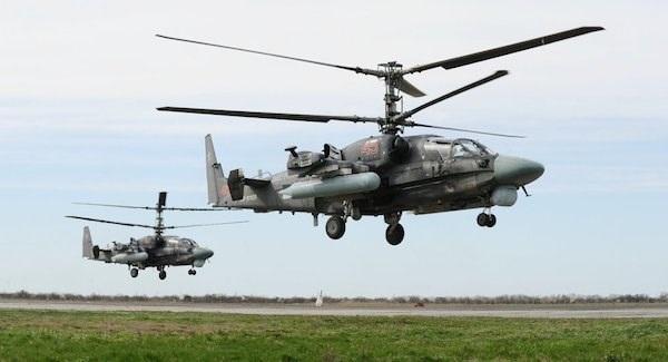 Trực thăng Ka-52 Alligator. (Nguồn: Sputnik)