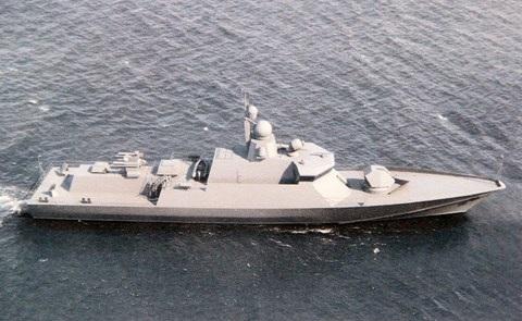 Tàu Karakurt có kích cỡ nhỏ nhưng hỏa lực vô cùng mạnh mẽ