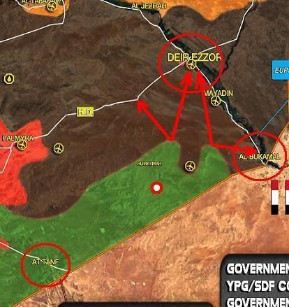Mỹ sẽ lần lượt lập các căn cứ dọc biên giới Syria giống như ở Raqqa và al-Hasakah