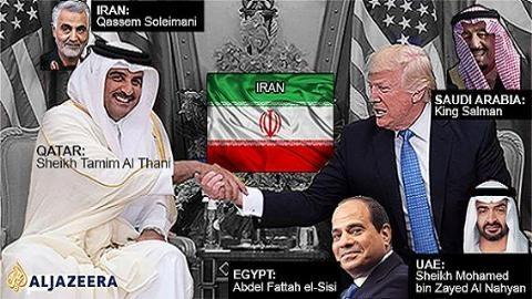 Các nước Ả rập đã đồng loạt cắt đứt quan hệ với Qatar vì bắt tay Iran