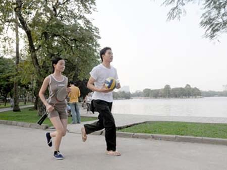 Tập luyện thể dục thể thao tốt cho sức khỏe tình dục.