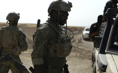 Lực lượng Dân chủ Syria (SDF). Ảnh: AFP.