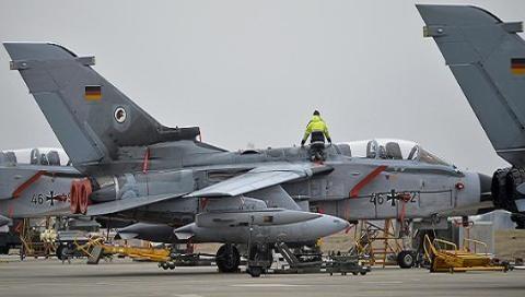 Quân đội Đức sẽ rút 6 chiếc Tornado và máy bay tiếp dầu từ Incirlik/Thổ Nhĩ Kỳ đến căn cứ không quân Azraq ở khu vực Zarqa, phía Bắc Jordan