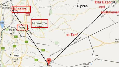 Việc máy bay Đức hiện diện ở căn cứ không quân Azraq/Jordan nằm trong tính toán của liên quân Mỹ?