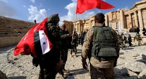 Nga-Syria giai phong hoan toan Aleppo, nguoi Kurd om han