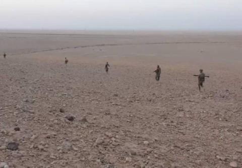 Quân đội Syria tiến công thị trấn dầu mỏ Arak, phía đông Palmyra