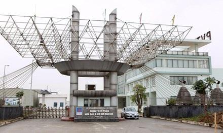 Nhà máy sản xuất xơ sợi Đình Vũ, một trong số 12 dự án thua lỗ, đắp chiếu của các đơn vị thuộc ngành công thương. Ảnh: Như Ý.