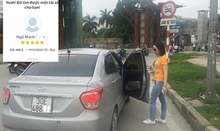 Cùng với biển cấm taxi, sắp tới Sở GTVT Hà Nội cũng sẽ bổ sung biển cấm xe công nghệ trên các tuyến phố cấm. Ảnh: Anh Trọng.