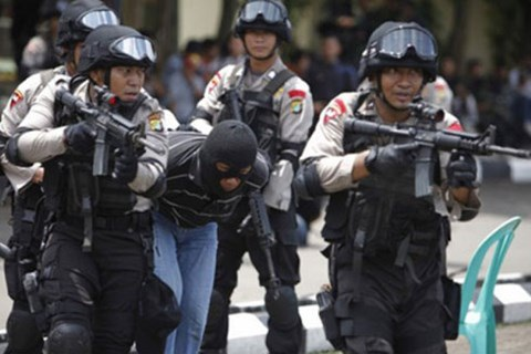 Lực lượng chống khủng bố Indonesia bắt giữ một nghi phạm