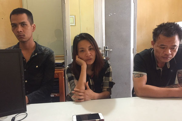 Đối tượng Vũ Thị Thu Hà và Đỗ Văn Thảo, Nguyễn Văn Linh.