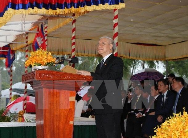 Tổng Bí thư Nguyễn Phú Trọng kết thúc tốt đẹp chuyến thăm Campuchia - 1