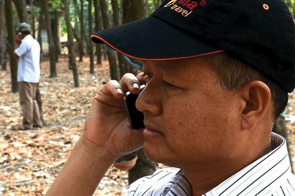 Đại tá Trần Văn Luận trực tiếp đến hiện trường chỉ đạo phá án.