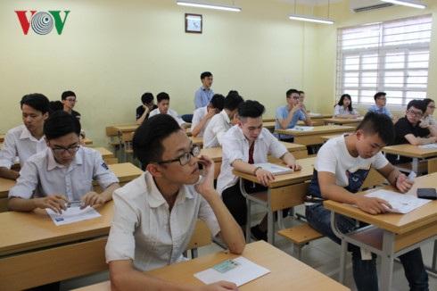 Mặc dù điểm chuẩn năm nay tăng nhưng với phương thức thi mới, lãnh đạo các trường ĐH tốp đầu vẫn tự tin tuyển đủ thí sinh (ảnh minh họa)