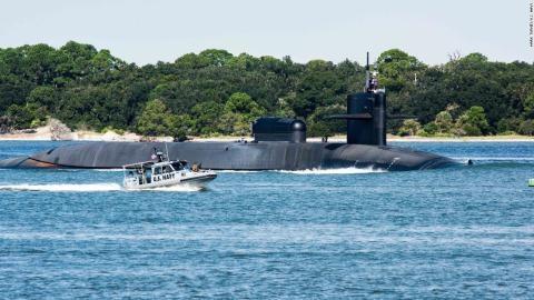 Tàu ngầm lớp Ohio của Mỹ.
