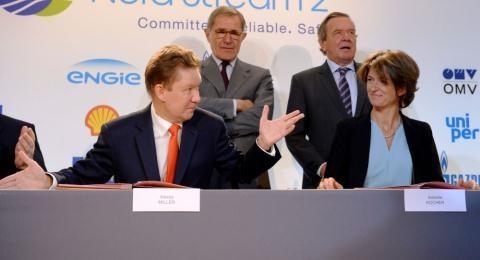 Các nhà đầu tư của Nord Stream - 2 lo ngại trừng phạt khiến ngưng đầu tư vào dự án đường ống mới.