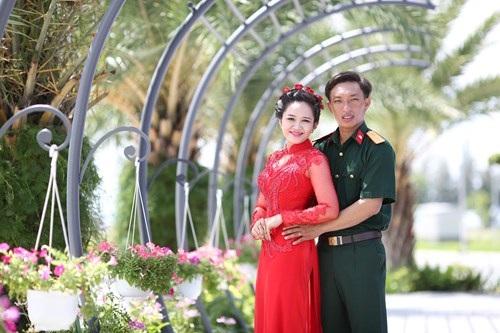 Lê Mạnh Hùng và Nguyễn Thị Thùy Trang.