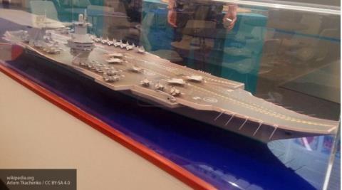 Nga bắt đầu công việc phát triển tạo ra siêu tàu sân bay Shtorm