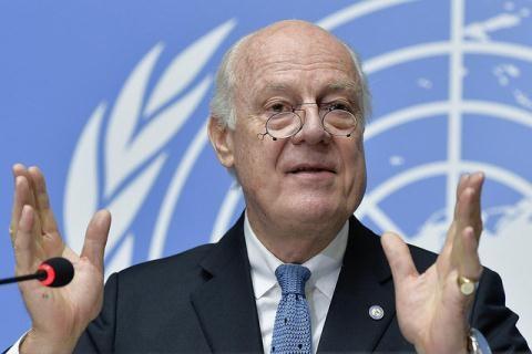 Đặc phái viên của Liên Hợp Quốc về Syria, Staffan de Mistura