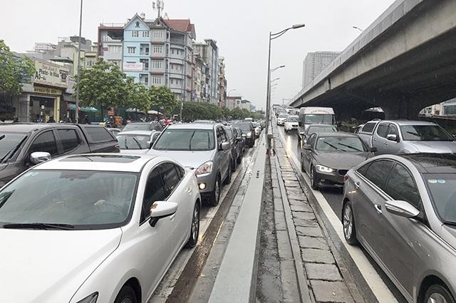Hà Nội sẽ thu phí phương tiện lưu thông trên các tuyến phố ùn tắc