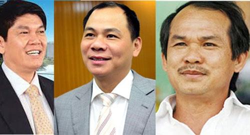 Những đại gia Việt nhiều tham vọng.