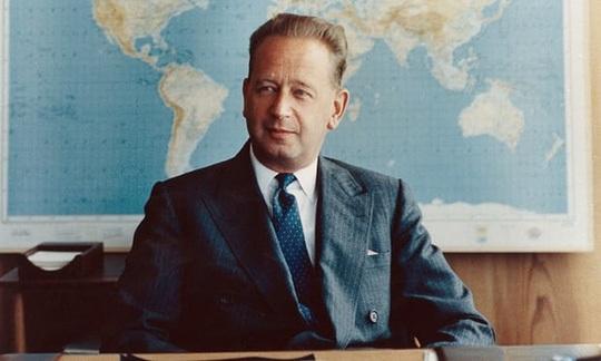 Ông Dag Hammarskjold. Ảnh: Rex