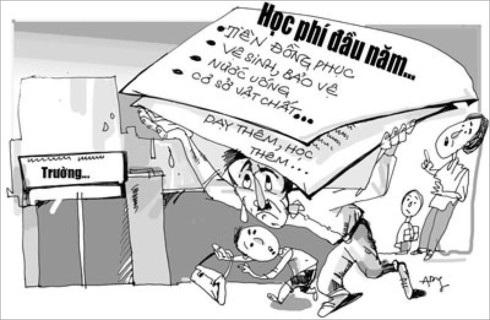 Cử tri Hà Nội lên tiếng về tình trạng lạm thu đầu năm học mới - 1