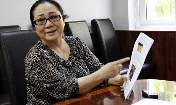 Bà Dương Thị Bạch Diệp.
