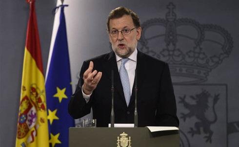 Thủ tướng Tây Ban Nha Mariano Rajoy (Ảnh: Reuters).
