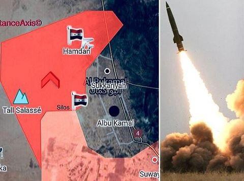 Nga và Syria dùng các loại vũ khí hạng nặng để hỗ trợ SAA tái chiếm Abu Kamal từ tay IS