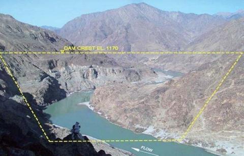 Dự án đập Diamer-Bhasha giữa Trung Quốc và Pakistan bị hủy bỏ