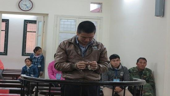 Bị cáo Nguyễn Văn Tuấn tại phiên tòa