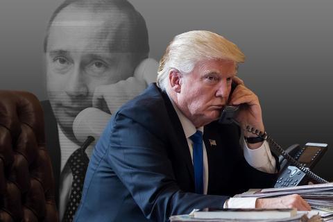 Tổng thống Putin và Tổng thống Trump điện đàm